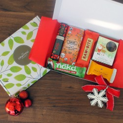 Little Christmas Joy Chocolate & Snack Gift Box (Vegan)